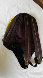 """Nov  ranac kupljen u englesku,marka ,,unoomarttins""""crne boje sa žutim  - Kikinda - slika 5"""