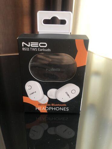 2694 объявлений: Наушники вставные беспроводные Neo Bs11 TWS Earbuds,Black