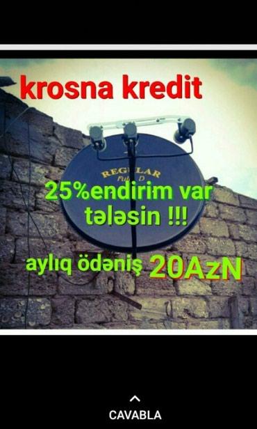 Bakı şəhərində Krosna negd ve kreditle satısı