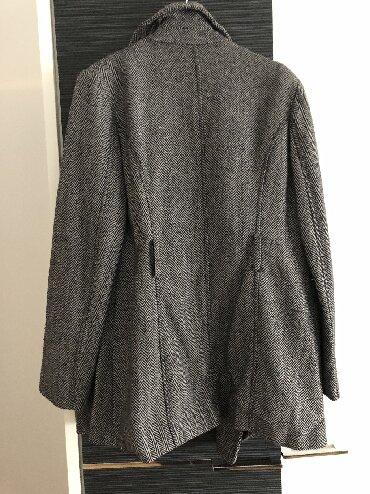 Kaputic kratki, sive boje na prugice Ocuvan, bez ostecenja Velicina XL - Obrenovac