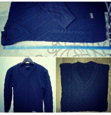 Мужской свитер ,вязаный . размер s,m 44-46. обмен рассмотрю в Бишкек