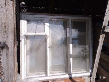 Продаю окна деревянные б/у. В наличии 6 штук. Цена договорная. в Кант