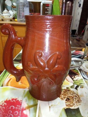 Другая посуда - Кыргызстан: Глиняный кувшин. хорошее состояние