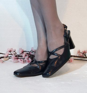 ❤ Firmirane GP Laki Line elegantne cipele u teget i crnoj boji... - Belgrade