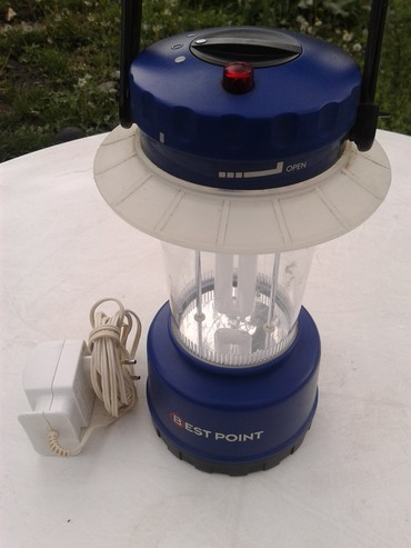 Lampa za kampovanje sve komplet sa punjačem akumulator u odlicnom - Zrenjanin