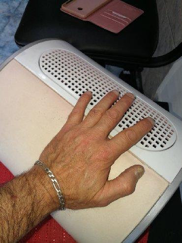 Usisivač pri radu noktiju(manikir, pedikir) Ispravan. Tri ventilatora