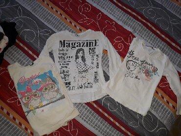 Dečiji Topići I Majice | Indija: Majicice vel.4 sve tri za 500