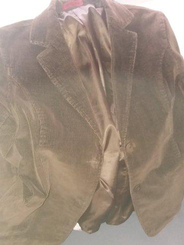 Kao nov,malo nosen somotski sako,strukiran! Br 36 - Trstenik