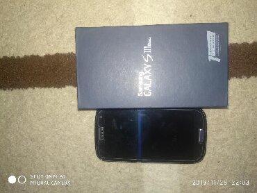 Samsung galaxy s3 mini бу - Кыргызстан: Б/у Samsung I9300 Galaxy S3 16 ГБ Синий