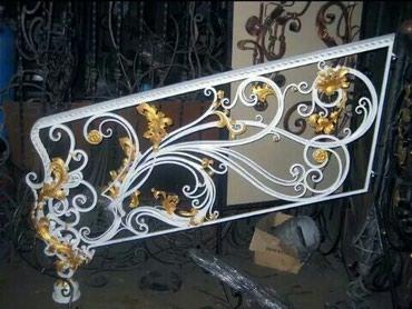 Кованные изделия Металлоконструкции в Бишкек