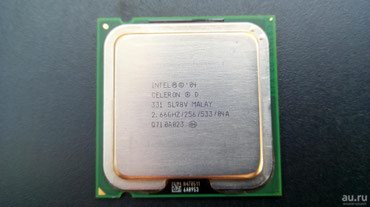 CPU - Intel Celeron D 2.66GHZ/256/533 в Gəncə