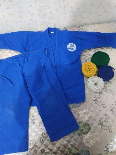 Другие товары для детей в Кант: Кимоно для дзюдо самбо на 4-5 лет в хорошем состоянии