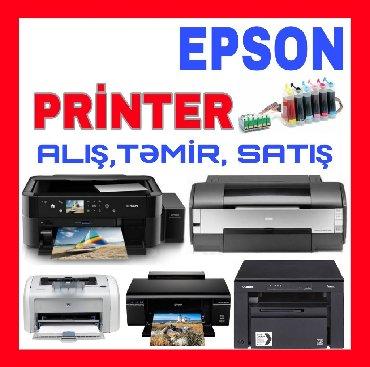 Bakı şəhərində Printer Epson təmiri, istənilən problemin aradan qaldırılması