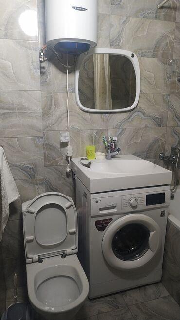 Продажа квартир - Договор купли-продажи - Бишкек: 104 серия, 3 комнаты, 58 кв. м Бронированные двери, Кондиционер, Парковка