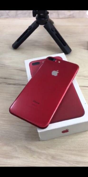7 plus - Azərbaycan: İşlənmiş iPhone 7 Plus 128 GB Qırmızı