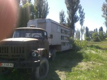 Продаю пасеку Зил 131дизель комбайновский двигатель+пчелопавельон