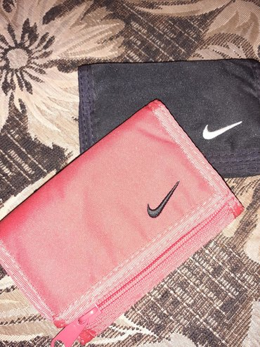 Dva nike novčanika, kasicni, sportski sa džepom za sitnis