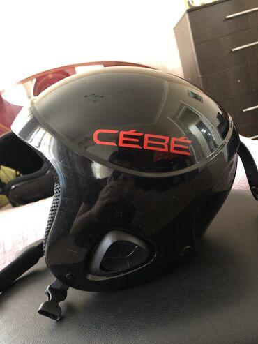 Детские машинки электромобили - Кыргызстан: Продаётся детский шлем для катания на лыжах/сноуборде от бренда Cebe в