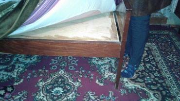 Продаю 2 Спалку Кровать без матраса город Кант Советская телефон в Бишкек