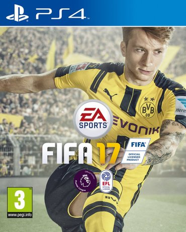 Fifa 17 +16 Ps4 за цена 1000 in Бишкек