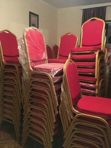 Аренда столов и стульев 100шт. в Бишкек