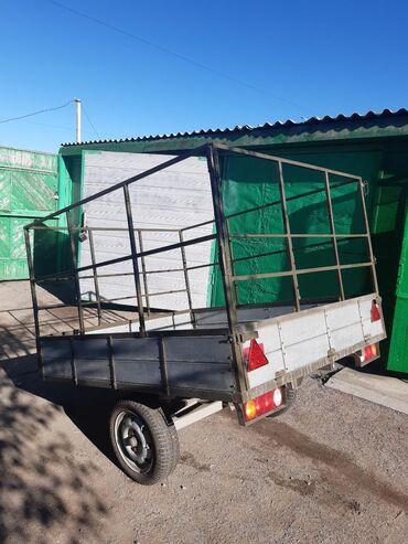 Прицепы - Кыргызстан: Продаётся прицеп. Новый. Находится в Балыкчы. Все вопросы по телефону