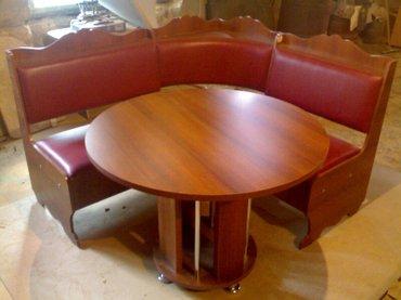 Sumqayıt şəhərində metbex ucun kuncluk  divan  stolu