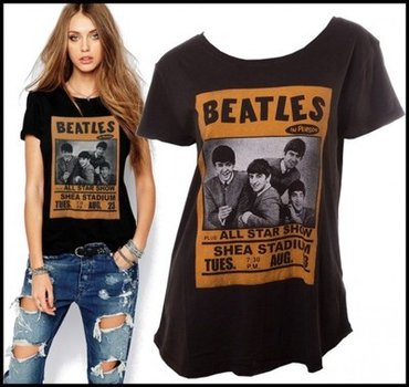 Tally wejli zenska majica the beatles m vel - Cuprija