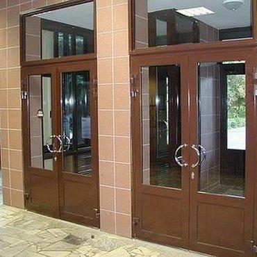 Окна Окна Окна  Окна и двери из алюминиевого профиля и профиля ПВХ . Т