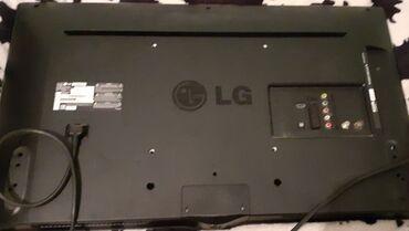 82 diaqanal LG tv.Qirigi var ekranda asagidsn xet gedir.ses gelir