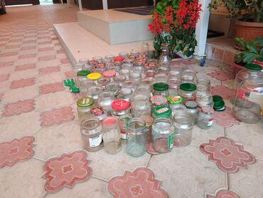 акустические системы 4 0 колонка череп в Кыргызстан: Продаю стеклянные банки, 0.9