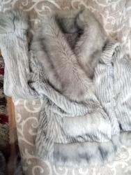 Bunda-nerc-nozice-sa-kapuljacom-izgleda-uzivo - Srbija: HITNO!!!! Siva atraktivna bunda!
