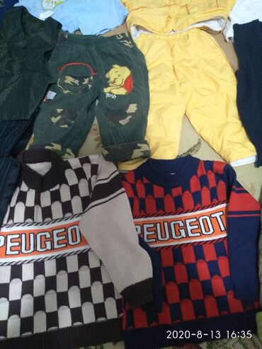 Пакет одежды хорошего качества и состояния!!! на мальчика от 1г- до 7