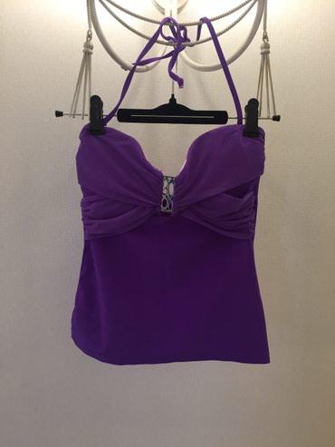 Верх купальник модного фиолетого в Токмак