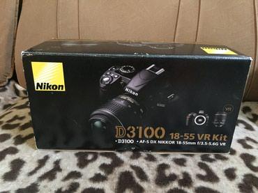 Продаю фотоаппарат nikon D3100 с линзами: в Бишкек
