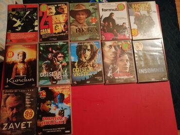 Knjige, časopisi, CD i DVD | Ivanjica: Cd filmovi po komadu 100 dinara, sve za 500 dinara