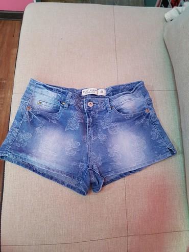Шорты - Бишкек: Продам джинсовые шортики S размера в отличном состоянии,распродаю