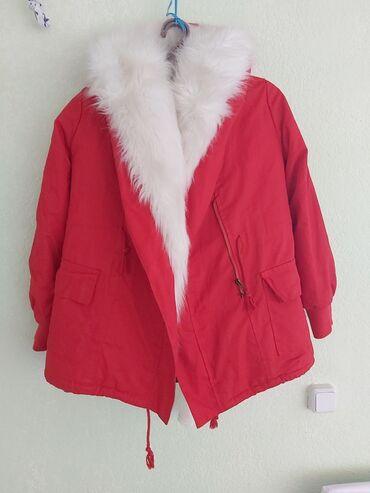 Фирменная очень тёплая качественная куртка, отправили из Москвы размер