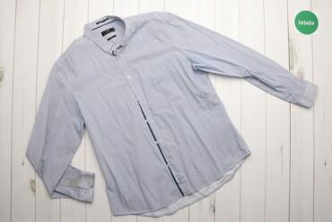 Мужская одежда - Украина: Чоловіча сорочка Oodji, р. S    Довжина: 75 см Ширина плеча: 47 см Рук