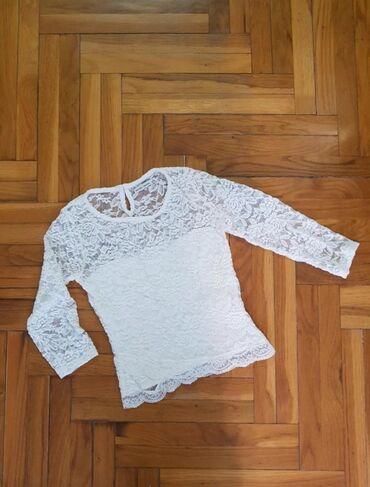 Ženske majice - Srbija: AKCIJA!Nova cipkana majica,crop top.Velicina S