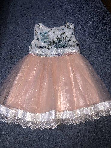 платье для мамы и дочки на годик в Кыргызстан: Размер идёт на годик -полтора годика