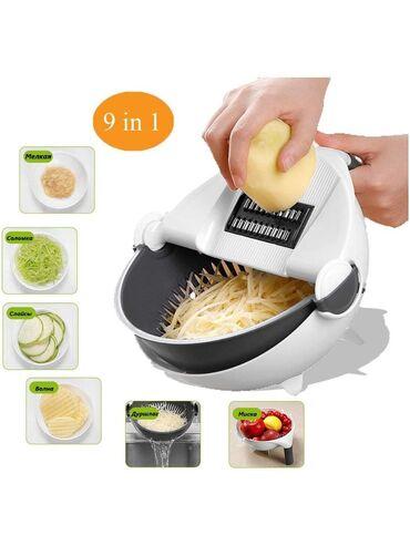ТеркаС помощью такой овощерезки можно нашинковать овощи, фрукты или