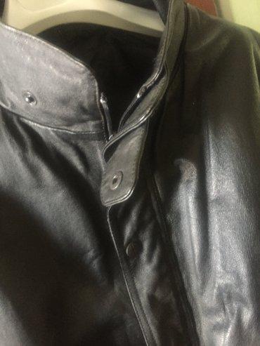 Натуральная кожаненная куртка из Германии размер 52-54 в Бишкек