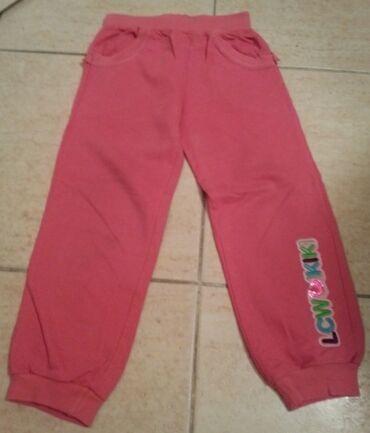 Pantalone - Srbija: Waikiki trenerka 2-3 godine (92-98 cm) ciklama, roze boje, mnogo