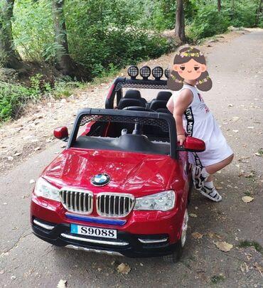 Детский мир - Орто-Сай: Продам тюнинговый детский автомобиль BMW X5. Установлен автомобильный