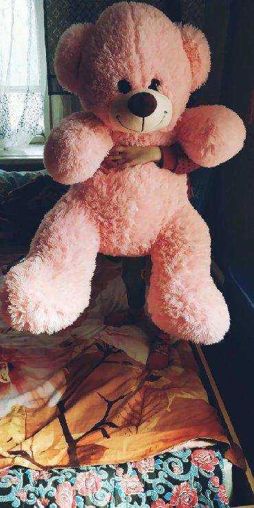 Продам большое розовый медведь в отличном состоянии, отдам всего за