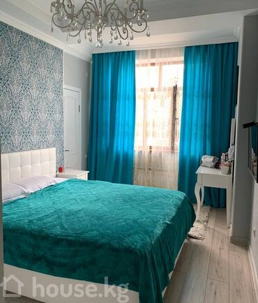 проекты домов бишкек 2017 в Кыргызстан: Элитка, Студия, 51 кв. м Бронированные двери, Видеонаблюдение, Лифт