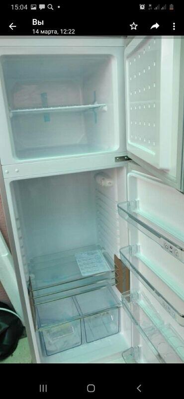 Электроника - Гульча: Новый Двухкамерный   Серебристый холодильник