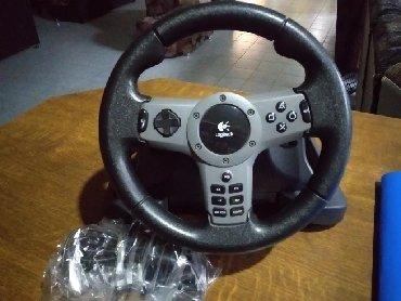 Электроника - Чон-Таш: Продаю игровой руль подойдёт на PS3 и на PC . Состояние идеальное