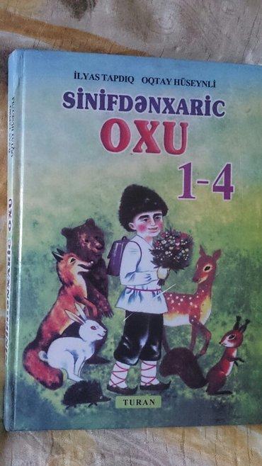 Bakı şəhərində Sinifdenxaric oxu kitabi.Teze.